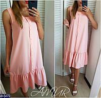 Стильное платье    (размеры 48-54)  0180-52, фото 1