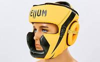 Шлем боксерский с полной защитой PU VENUM CHALLENGER BO-7041-OR