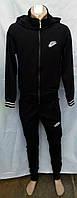 Спортивный костюм мужской Турция Найк черный трикотаж, фото 1