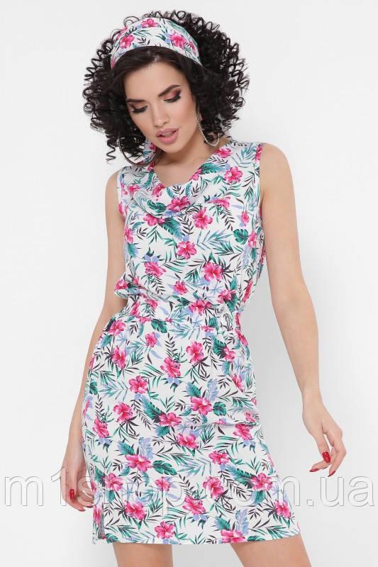 Женское летнее платье без рукавов (Madison fup)