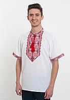 Вишиванка на короткий рукав (домоткана)