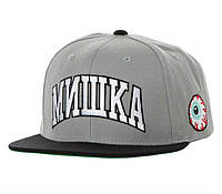 Кепка Mishka - Мишка - Classic Logo Black/Gray