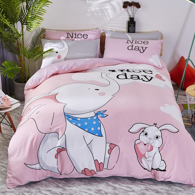 Комплект постельного белья Слон (полуторный) Berni