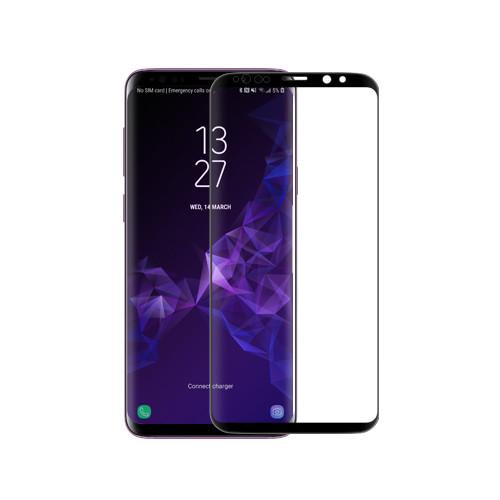 Nillkin Samsung G965F Galaxy S9+ 3D DS+MAX Series Black Защитное Стекло