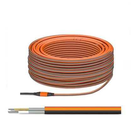 Двухжильный нагревательный кабель ТЕПЛОЛЮКС PROFI - ProfiRoll 1400 (9,7 м2) Россия, фото 2