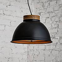 Современный подвесной светильник Люстра в стиле лофт loft черный дизайнерский