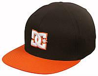 Кепка Dc Shoes - Classic Logo Black/Orange