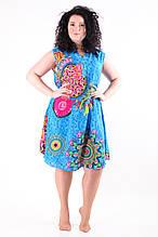 Женское летнее платье 8025-2