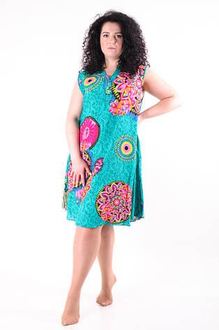 Женское летнее платье 8025-3, фото 2