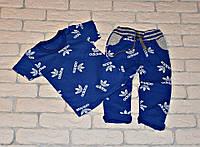 Костюм (футболка+штаны) Yuvdi-tex 245577 116-122см синий