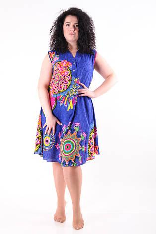 Женское летнее платье 8025-4, фото 2