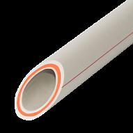 Труба полипропиленовая армированная стекловолокном VS Plast 25*4,2 PPR-FR-PERT для водопровода и отопления