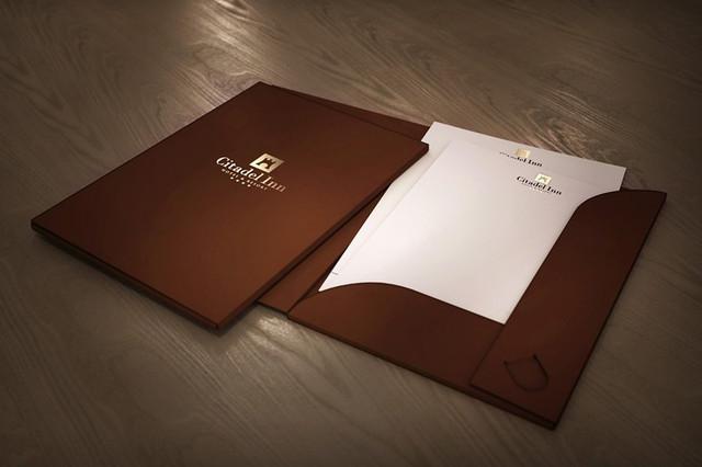 Изготовление папок с логотипом в Днепре