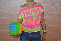 Футболка+майка жіноча, літо. розм.46-50