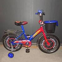 Велосипед детский Mustang Тачки - Cars 18 дюймов - синий, фото 1