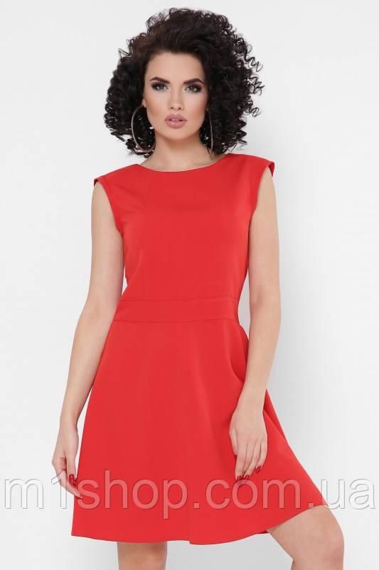 Женское летнее расклешенное платье без рукавов (Penelope fup)