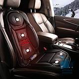 Массажная накидка с подогревом  для дома или автомобильного сидения, фото 2