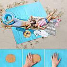 Пляжный  коврик для моря - Анти-песок, фото 5
