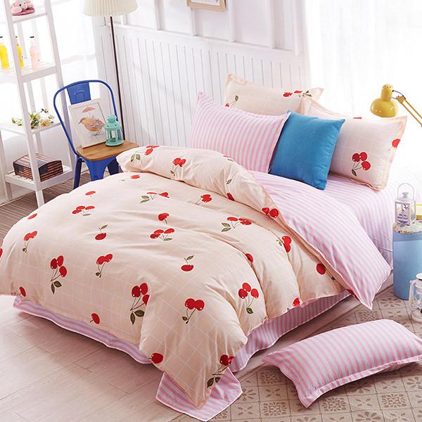 Комплект постельного белья Вишня  (двуспальный-евро) Berni