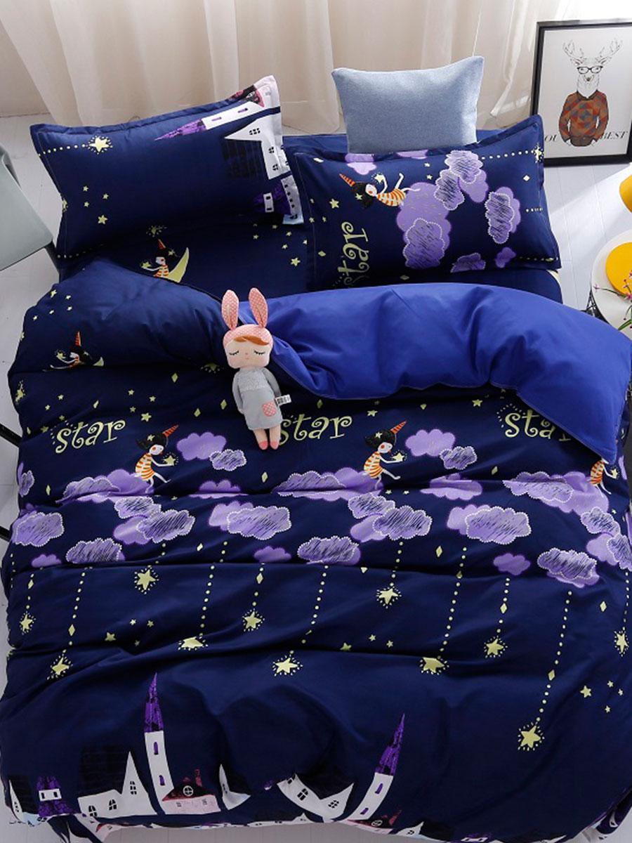 Комплект постельного белья Ночь (полуторный) Berni
