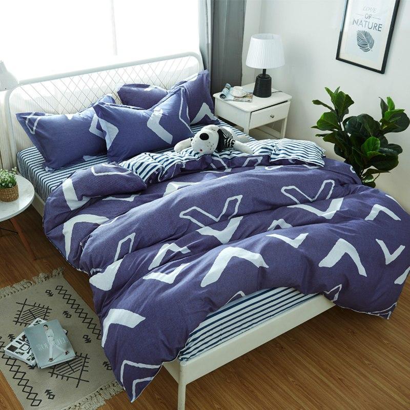 Комплект постельного белья Геометрический узор (полуторный) Berni