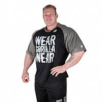 Футболка Gorilla wear Colorado Oversized T-Shirt (Black/Grey)