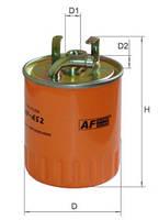 Фильтр топливный Alpha Filter AF452 (РР 841/1)