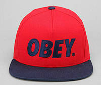Кепка Obey - Classic Logo Red/Navy