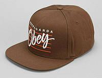 Кепка Obey - Stripes Logo Brown