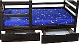 """Двухъярусная кровать из дерева """"Амели"""" (Луна), фото 4"""