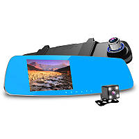 "Видеорегистратор зеркало  5""  E-ACE ЕА-460 с 2 камерами и системой видеопарковки"