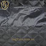 Женская дорожная сумка искусственная кожа серебристая, фото 6