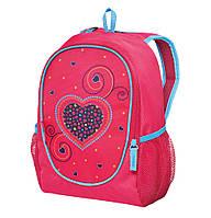 50014125 Рюкзак детский Herlitz ROOKIE Hearts Pink