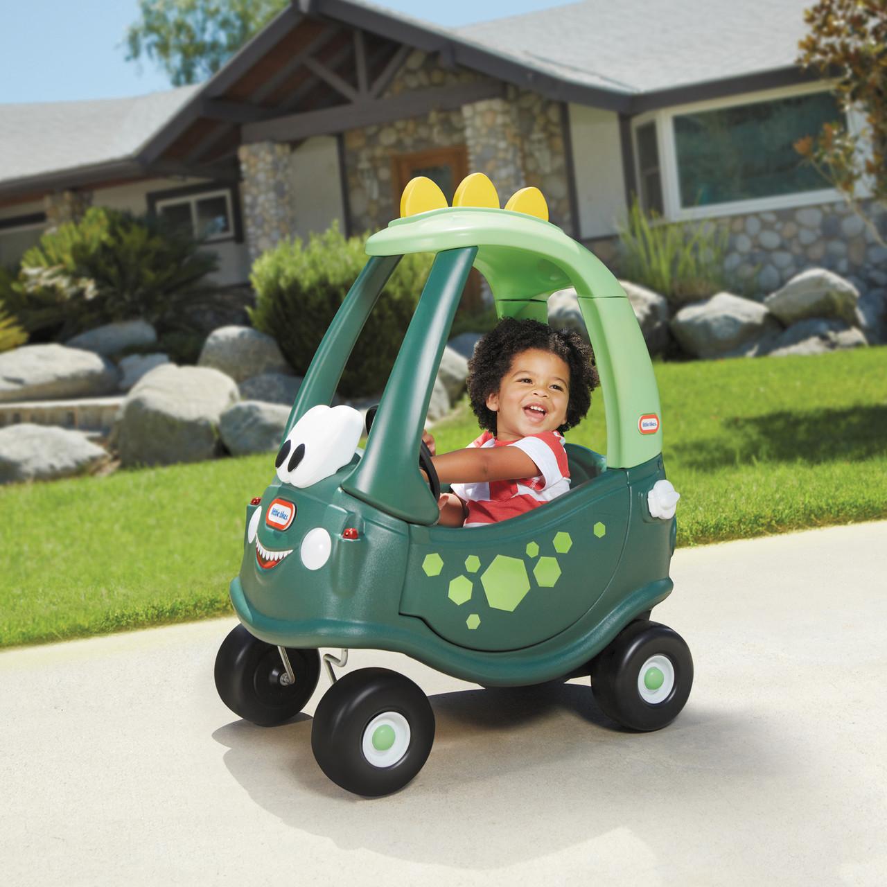Бесплатная доставка! Машинка каталка для детей серии Cozy Coupe Little Tikes - Автомобильчик Дино