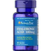 Препарат для восстановления суставов и связок Puritan's Pride Hyaluronic Acid 100 мг (60 капс)