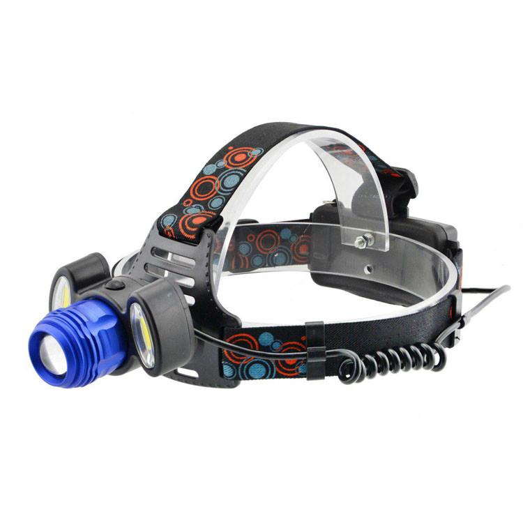 Налобный фонарь BL POLICE С862 3 диода T6 фонарик 1480 Lumen Фонарь туристический мощный фонарик на голову