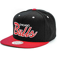 Кепка Mitchell and Ness - Chicago Bulls - Big Logo Classic Black/Red