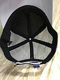 Сіра бейсболка з сітки унісекс 56-60, фото 9
