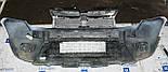 Декоративно-защитная сетка радиатора Renault Duster фальшрадиаторная решетка, бампер, фото 3
