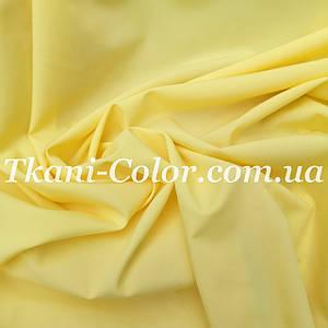 Ткань супер софт желтый