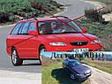 Стеклоподъемник передний правый электрический Mazda 626 GW 1997-2000г.в. комби, фото 6