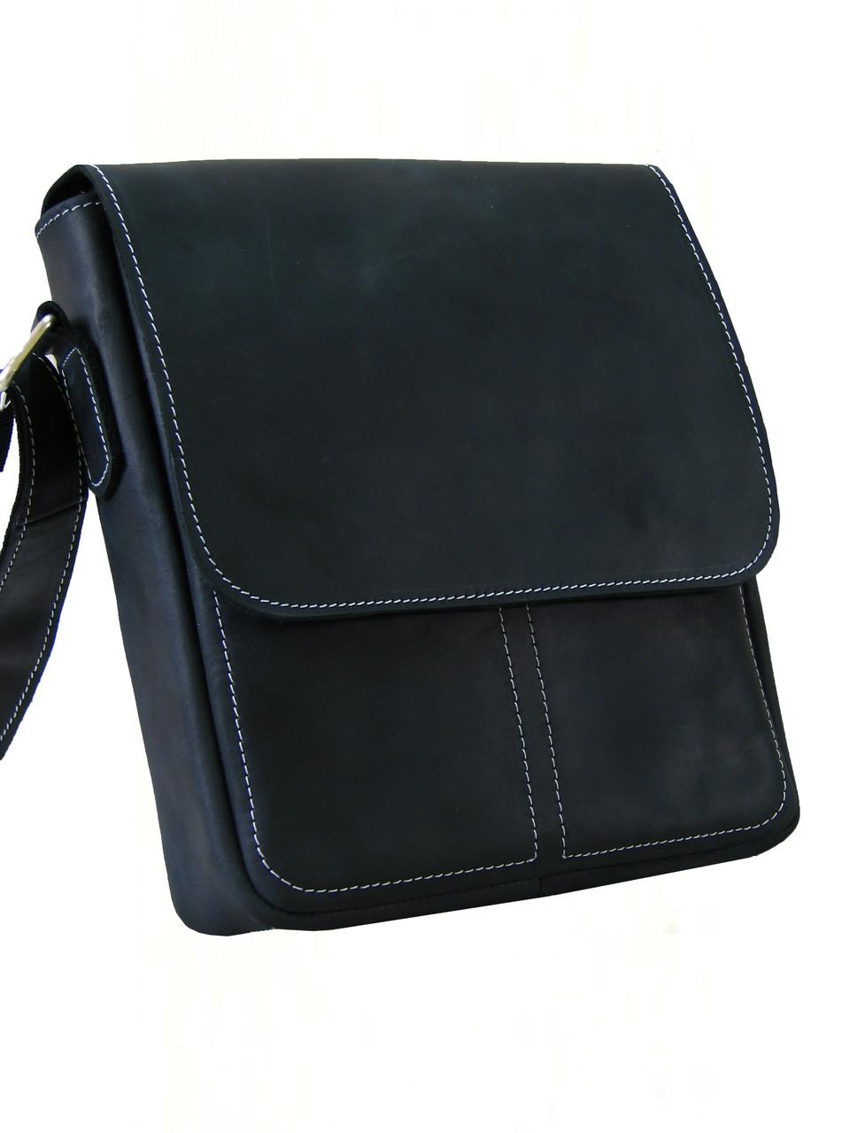 d551c445daf4 Мужская повседневная сумка GS кожаная черная: продажа, цена в ...