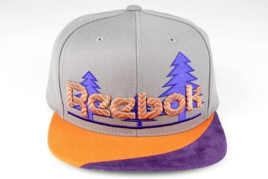 Кепка Reebok - Tree Classic Grey/Orange
