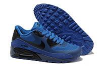 Кроссовки мужские Nike Air Max 90 Hyperfuse (Оригинал), кроссовки найк аир макс 90 гиперфьюз синие