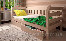"""Кровать деревянная для детской """"Тедди"""" (Луна)"""