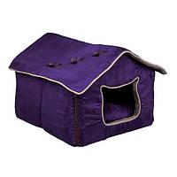 Trixie Hilla домик-лежак для кота 35×30×40см