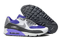 Кроссовки мужские Nike Air Max 90 Hyperfuse (Оригинал), кроссовки найк аир макс 90 гиперфьюз бело-синие