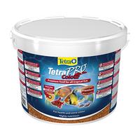 Корм сухой для аквариумных рыб в чипсах Tetra PRO Colour 10L/2,1кг премиум корм для окраса всех рыб