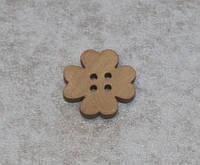 Пуговица  Цветок  639 поштучно, фото 1