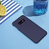Nillkin Samsung G970F Galaxy S10e Flex Pure Case Blue Силиконовый Чехол, фото 4